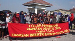 Demo Tolak Kawasan Ekonomi Khusus