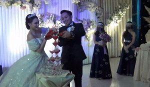 Face Shield Jadi Dresscode Pesta Pernikahan